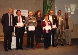 lauréats du concours Cap Création Sarthe 2014.